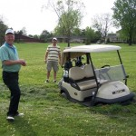 In Shepherdsville we drive ATV Golf Carts